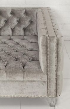 New Deep Custom Tufted Sofa