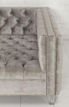 New Deep Custom Tufted Sofa