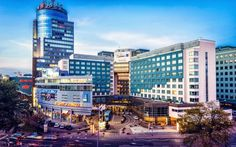 #Szczecin #Polska #UnityLine #Żegluga #poland Poland, Times Square, 3d, City, Building, Travel, Viajes, Buildings, Cities