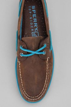 Sperry Top-Sider 2-Eye Neon Boat Shoe