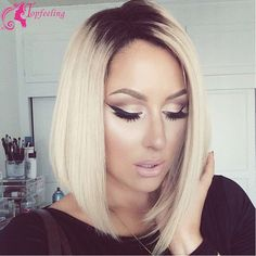 Find More Human Wigs Information about Grade 7A Lace Front Human Hair Bob Wigs For Black Women Ombre Lace Wig Short Glueless Full Lace Bob Wigs With Baby Hair,High Quality wigs for black women,China wig ventilating Suppliers, Cheap wigs for white women from Top Feeling Hair  Co., Ltd. on Aliexpress.com