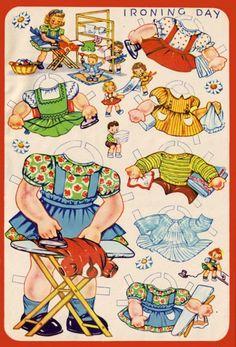 Paper Dolly Fun