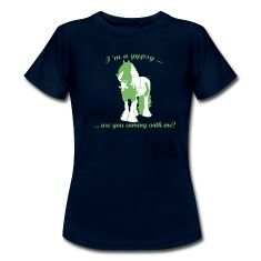 Gypsy horse green Tinker T-Shirts