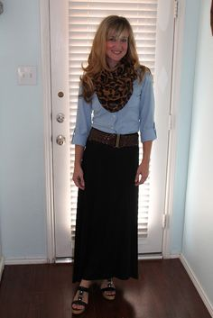 love this outfit from:  The Shoestring Contessa: What I Wore
