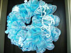 Its a Boy Wreath by poshcreationsKY on Etsy, $65.00