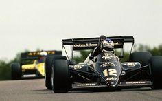 Nigel Mansell & Manfred Winkelhock