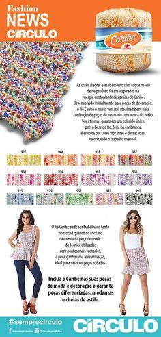 .: Fashion News Círculo: Fio Caribe!