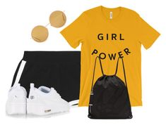 """""""Untitled #2134"""" by rowan-asha ❤ liked on Polyvore featuring Fendi, NIKE, McQ by Alexander McQueen and Acne Studios"""