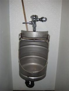 Man Cave Keg Urinal