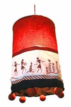 149 best candles lights and lamps images on pinterest lamps warli print fabric lamp shade homedecor craftshopsindia aloadofball Images