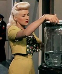 Betty Grable  her hair! <3. Betty Grable had the best Hollywood hair.