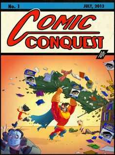 Comic ConQuest Turns Cosplayers into Game Characters Valuable Comic Books, Comic Books Art, Comic Art, Action Comics 1, Dc Comics, Comic Character, Game Character, Superman 1, Cartoon Crossovers
