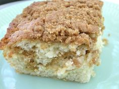 Banana Crumb Cake (and the name of my home) ~ http://www.southernplate.com