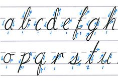 "In this lesson of ""Mastering Calligraphy"" we're going to learn how to write like the great Jane Austen. Flowing, cursive lettering is still seen today on wedding invitations and menus at fancy restaurants. While it looks extremely difficult to ink, it's actually made of two basic strokes. Better yet, with the Cursive Script, you hardly ever have to lift your pen off the paper! So let's dive in to the Cursive Script. 