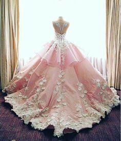 Bonito vestido rosa