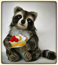 Pantagruel the raccoon by Francesca Boretti, KALEideaSCOPE