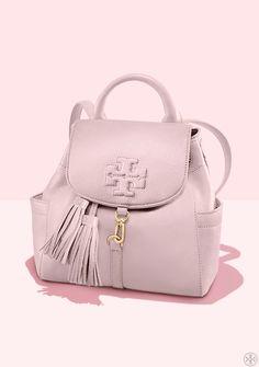 5927da68f8 Tory Burch Mini Thea Backpack Backpack Outfit, Emoji Backpack, Fashion  Backpack, Discount Designer
