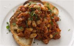 Beans on toast for grown-ups