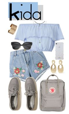 """Kida Disney Bound"" by gwynnieluree ❤ liked on Polyvore featuring House of Holland, Miss Selfridge, Hollister Co., Fjällräven, Kenneth Jay Lane, Panacea, Kate Spade, disney, disneybound and disneycharacter"