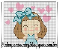 Cross Stitch Embroidery, Cross Stitch Patterns, Crochet Patterns, Stitch Doll, Cross Stitch Love, Free Crochet, Weaving, Decoration, Tapestry