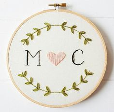 Instagram embroidery
