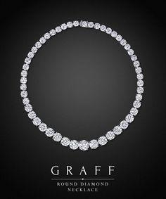 Graff Diamonds: Round Diamond Necklace