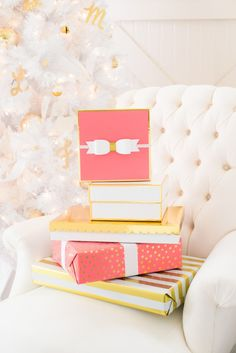 This Luxe Gift Wrap Is the Target Collab of Your Holiday Dreams via Brit + Co