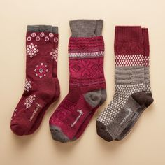 LET IT SNOW! SOCKS: Thick, cozy socks made of merino wool/nylon in Steamboat Springs, Colorado, where their warmth has to prove itself all winter. Let It Snow, Let It Be, Unique Clothes For Women, Cozy Socks, Winter Socks, Tights, Unique Jewelry, Shopping, Diy