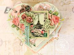 Altered Heart Album by Larissa Albernaz for Prima! Wouldn't you love to receive it with anything in it?