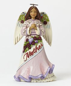 Look at this #zulilyfind! Mother Angel Figurine #zulilyfinds
