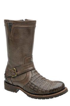 Cuadra Herren Western- Cowboystiefel (Krokodilleder Rücken) - Original handgefertigte Lederstiefel aus Mexiko!
