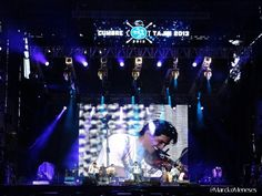 Look at Beto on the big screen! Cumbre Tajín. Papantla, Veracruz México. 2013