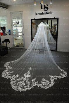 Wedding Veil, Lace Wedding, Wedding Dresses, Fashion, Bride Dresses, Moda, Bridal Gowns, Fashion Styles