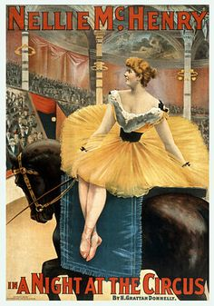 Nellie McHenry A Night at the Circus  c.1893