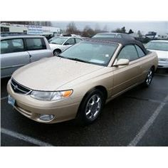 2000 Toyota Camry Solara Category: Convertible Make: Toyota Model: Camry Solara Color: Gold Year: 2000 VIN#: 2T1FF28P6YC421115 License Plate: OR XVK168 Title: Will Update Monday Night Mileage: 0 Condition: Runs and Drives