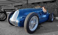 https://flic.kr/p/7cenVD | Tom Dark's 1947 Bugatti Type 73C No.10 (Paddock) - 2009 Goodwood Revival