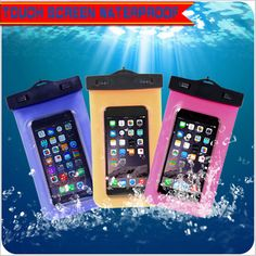Cyber Monday Deals Bags WaterProof C... @CyberMonday. http://ecybermonday.myshopify.com/products/bags-waterproof-case-mobile-phone-bag-for-iphone-6s-case-underwater-for-iphone4s-5s-for-samsung-galaxy-s7-screen-waterproof?utm_campaign=social_autopilot&utm_source=pin&utm_medium=pin