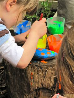 Irresistible Ideas for play based learning » Blog Archive » rock painting