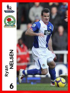 Ryan Nelsen, played for Blackburn Rovers in season 2010-11