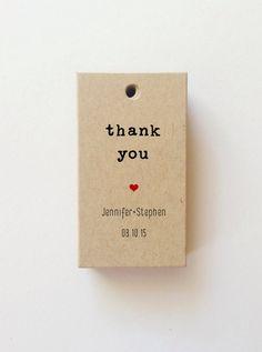 Mini Wedding tag personalizzati grazie tag borsa di benvenuto personalizzata Tag matrimonio regalo tag personalizzati favore Tag favore (25) by WeddingAffections on Etsy
