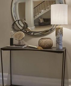 Detail from another entrance hall in a surrey project Luxurious Bedrooms, Entry Decor, Luxury Home Decor, Interior, Entryway Inspiration, Home Decor, House Interior, Sophie Paterson Interiors, Console Table Decorating