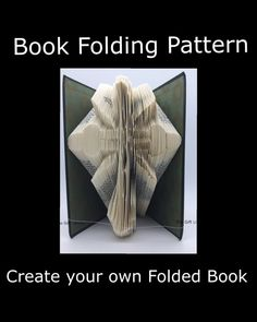 Folded Book Art Pattern Cross 6 Pattern to by TheGiftLibrary