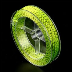 Line & Leaders Double Color Fly Fishing Braided Backing Line Black Yellow Fly Fishing Line, Fishing Tackle, Color Fly, Mercedes Benz Logo, Black N Yellow, Braids, Drum, Strong, Handle