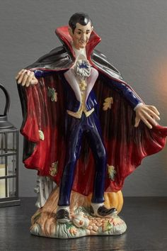 Haunted House Pictures, Dracula, Decorating Your Home, Halloween Decorations, Harvest, Candle Holders, Hand Painted, Fun, Painting