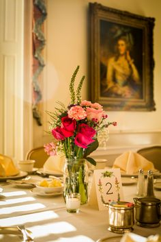 Pink Rose and Carnation Centerpieces | Photo: Wide Eyed Studios |
