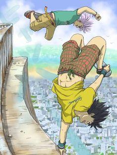 Trunks & Goten from the Dragon Ball Z anime Fanarts Anime, Manga Anime, Anime Art, Anime Soul, Dragon Ball Z Shirt, Dragon Ball Gt, Photo Dragon, Goten E Trunks, Vegeta And Bulma