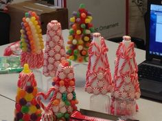Fun Candy Tree Centerpieces