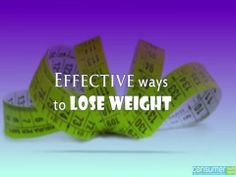 Watch Out This Easy And Effective Tips To Lose Weight Successfully.