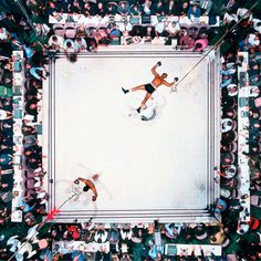 middleamerica:Muhammad Ali Knocks out Cleveland Williams during the 1966 World Heavyweight title at the Astrodome, Houston, Texas, Neil Leifer Muhammad Ali, Wall Prints, Poster Prints, Posters, Neil Leifer, Memphis Depay, Picture Editor, Famous Photographers, Ideas