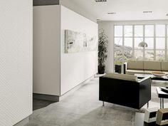 Revestimiento Artis White Matt 33,3x100 cm | Pavimento STON-KER® Corinto Acero 59,6x59,6 cm